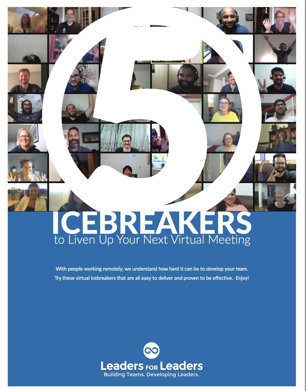 5 Icebreakers for Virtual Meetings